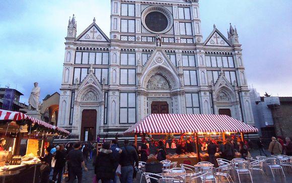 Mercado de Navidad en Florencia