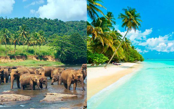Esplendores de Ceilán y Maldivas