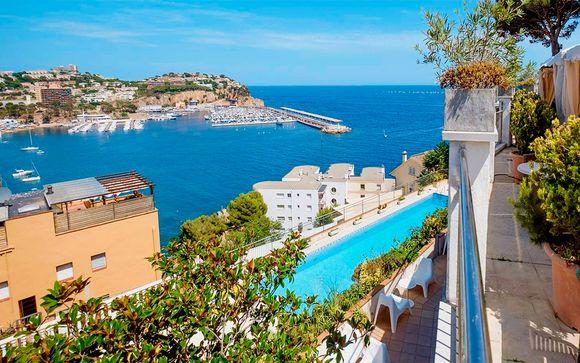 Desde 21/04: Relax en el Mediterráneo con media pensión