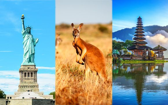 La vuelta al mundo: De Nueva York a Sanur