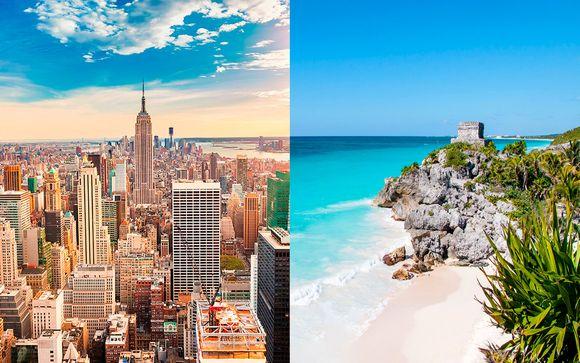 Hotel boutique en Manhattan y todo incluido en el Caribe