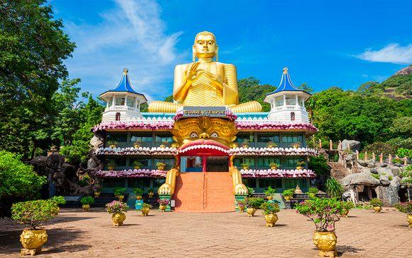 Sri Lanka Colombo - Circuito cultural y Amaya Beach en 5* desde 734,00 €