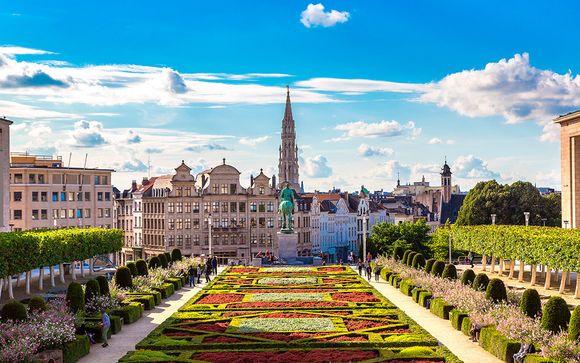 Impresionante diseño y estilo en la capital belga
