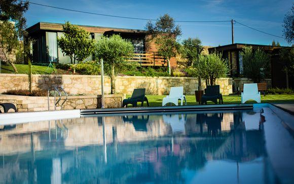 Relax y romanticismo en una villa con un entorno espectacular
