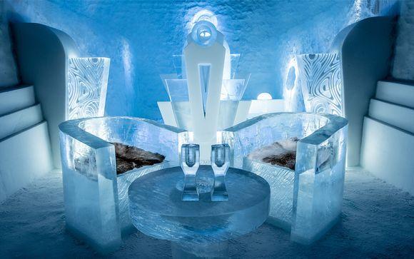 Aventura de hielo en Suecia