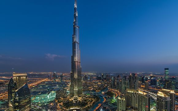 ¡Completa tu estancia en Dubái!