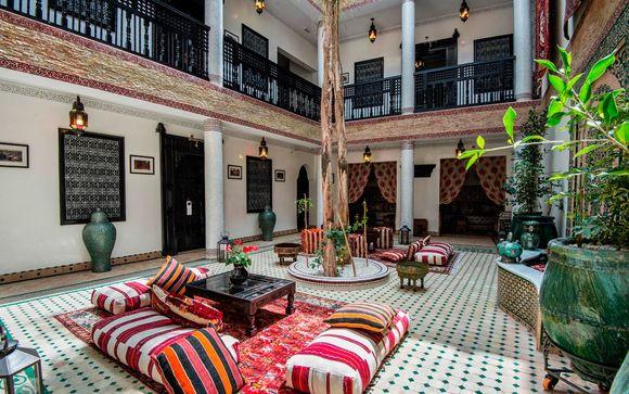 Elegancia, exotismo y lujo 5* junto a la Medina