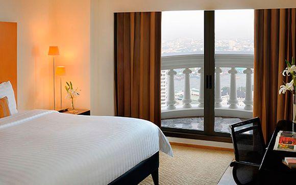 Suite Club City vista balcón