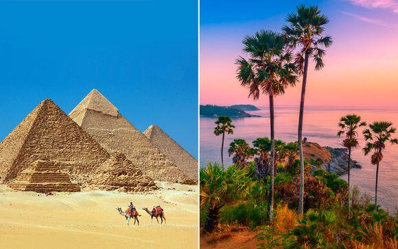 El Cairo, Bangkok y Phuket en 4* y 5*