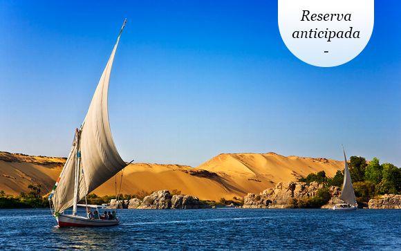 A partir de mayo: Circuito 5* con crucero por el Nilo y vuelos