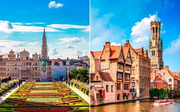 Bélgica Brujas - NH Grand Sablon 4* y Grand Hotel Casselbergh 4* desde 177,00 €