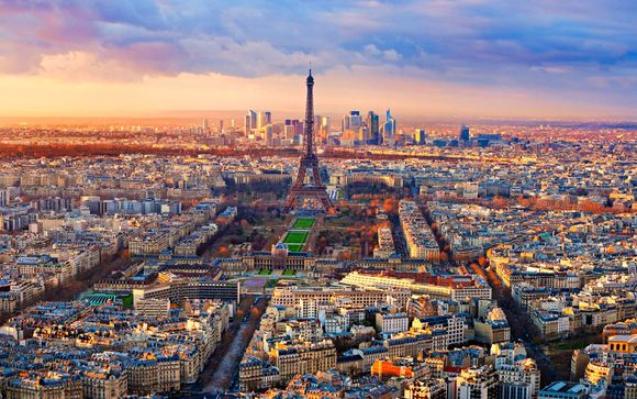 Atmósfera parisina cerca de la plaza de la Bastilla