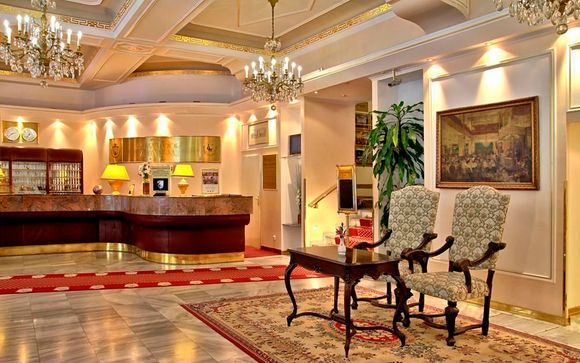 El Hotel Ambassador Zlata Husa le abre sus puertas