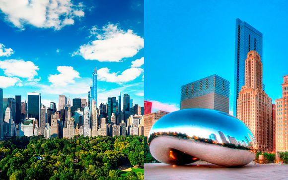 Estados Unidos Chicago - James New York Nomad 4* y Raffaello Hotel Chicago 4* desde 1.003,00 €