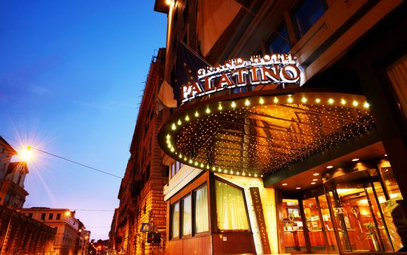 Italia Roma – FH Grand Hotel Palatino 4* desde 107,00 ? Roma Italia en Voyage Prive por 107.00 EUR€