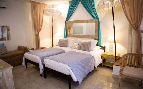 Poussez les portes de l'hôtel Hôtel The Mansion Baliwood 5* à Ubud