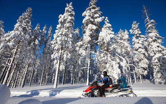 Mettez une option sur l'évasion à Rovaniemi