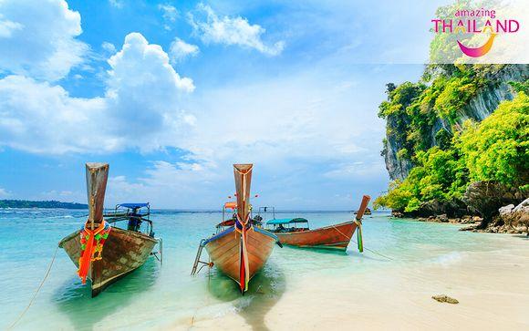 Paradis turquoise et hôtel design