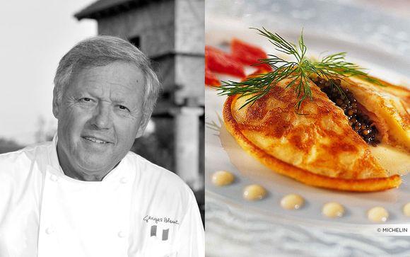 Restaurant Georges Blanc trois étoiles MICHELIN
