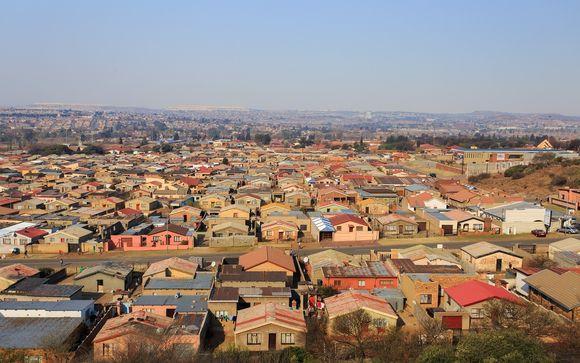 Zone de rencontre à Johannesburg