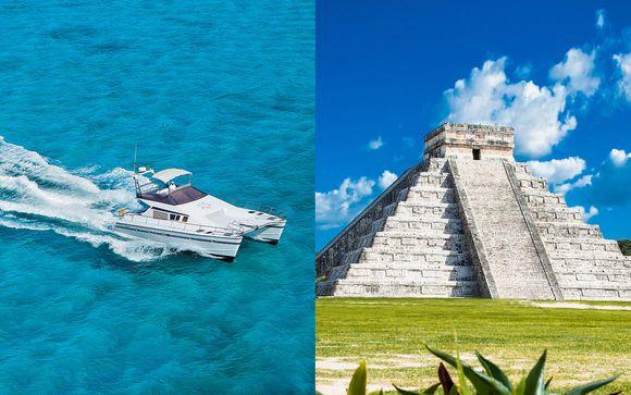 Transferts en yacht et visite d'une des 7 merveilles du monde