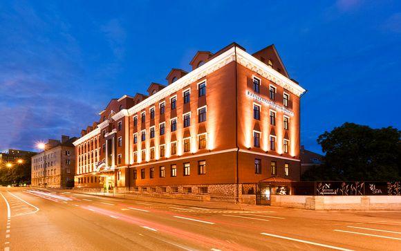 Poussez les portes du  Kreutzwald Hotel 4*