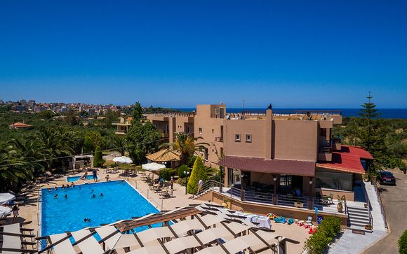 Poussez les portes de l'Apollo Resort Art Hotel 4*