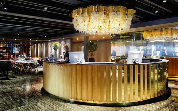 Poussez les portes de l'hôtel Clarion Amaranten 4* à Stockholm