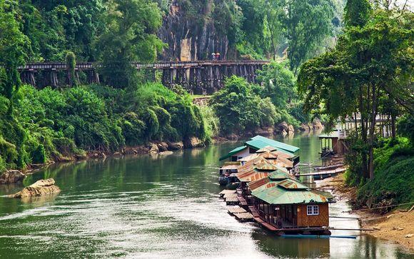 Combiné Bangkok, River Kwai et plage