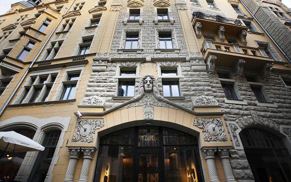 Poussez les portes de l'hôtel Neiburgs 4*