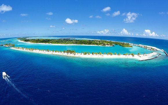 Photographie des îles Maldives et de ses paysages majestueux