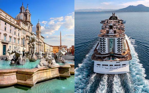 Séjour à Rome et Croisière Méditerranée