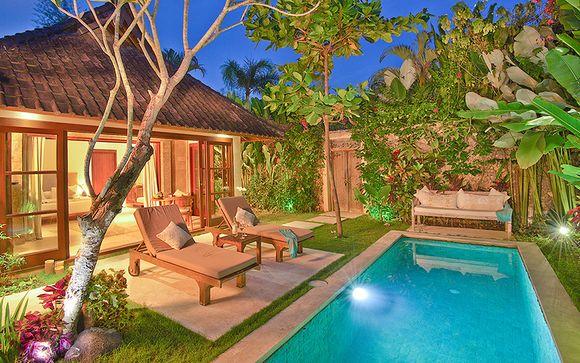 Hôtel Villa Kubu Seminyak et pré-extension possible à Ubud