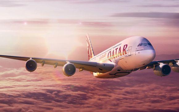 Envolez-vous avec la compagnie Qatar Airways