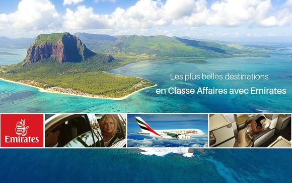 Les plus belles destinations en Classe Affaires avec Emirates