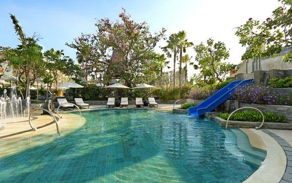 Poussez les portes de l'hôtel Sofitel Nusa Dua