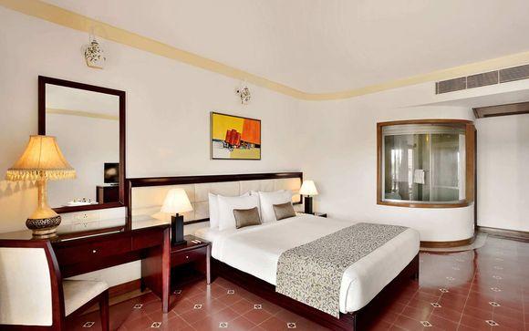 Votre extension à l'hôtel Radisson Blu Resort Goa Cavelossim Beach 5* à Goa