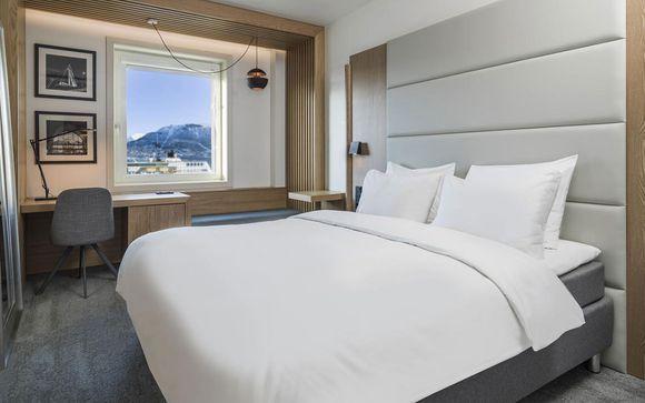Poussez les portes de l'hôtel Radisson Blu 4* à Tromso