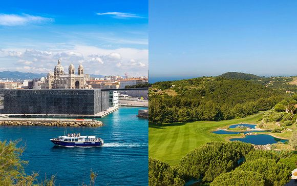 Combiné 4* Radisson Blu Marseille Vieux Port et Dolce Fregate