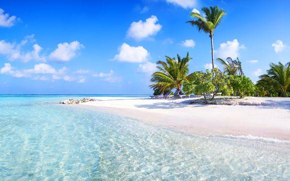 Paradis en tout inclus dans l'Océan Indien