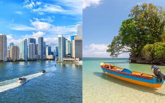 Combiné Four Seasons Hotel Miami et Hideaway at Royalton Negril Jamaica - 5*