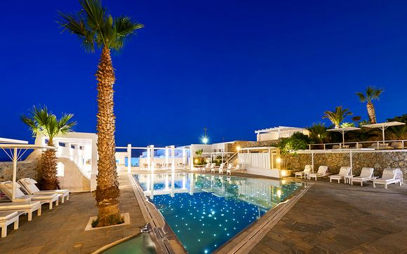 Petit paradis face à la mer dans les Cyclades