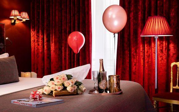 Commencez votre séjour de manière romantique...