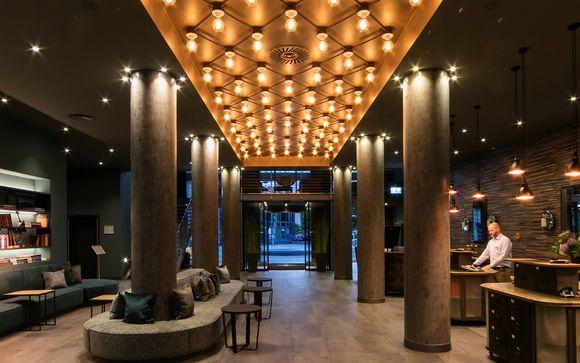 Poussez les portes de l'Hôtel Ameron Abion Spreebogen Waterside 4*