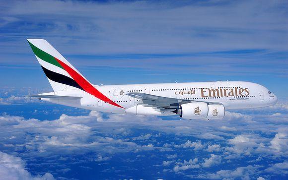 Offre-vous le luxe de la classe Affaires avec Emirates