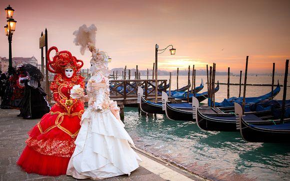 Le Carnaval de Venise en hôtel 4* en 3 jours et  2 nuits