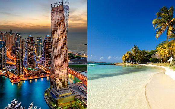 Emirats Arabes Unis Dubai - Combiné 5* Crowne Plaza Festival City et InterContinental Mauritius ...