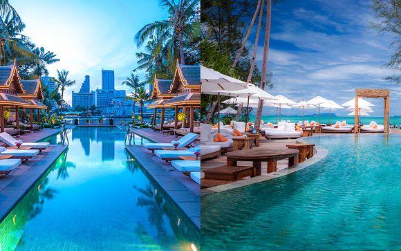 Combiné 5* The Peninsula Bangkok & Nikki Beach Koh Samui
