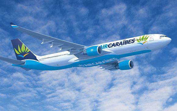 Offrez-vous un vol direct avec Air Caraibes