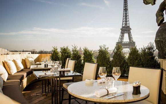 Epopée culinaire en tête à tête avec la Tour Eiffel